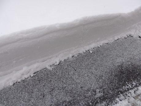 除雪機の力