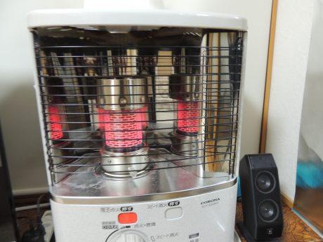 暖房フル稼働